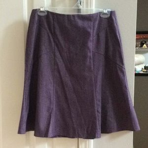 Purple New York and Company Skirt